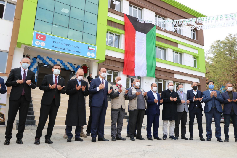 النوري الخيرية تفتتح مدرسة للاجئين السوريين بتركيا